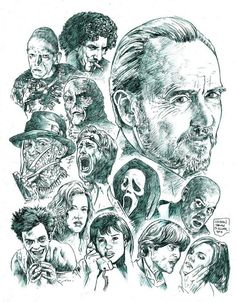 Wes Craven; i.e. A Nightmare on Elm Street films, The People Under the Stairs, Scream films, Cursed, Red Eye, The Hills Have Eyes films, The Last House On the Left films