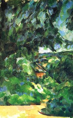 iPhone 6 Plus ready. 1904-1905 vers Paul Cézanne Le Paysage Bleu