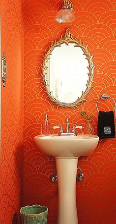 bold! Wall color/design