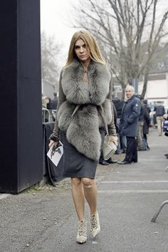 It is the end of an era for Carine Roitfeld and Paris Vogue. Roitfeld, one of the most influential editors and style arbiters in the business, will be step Fur Fashion, Vogue Fashion, I Love Fashion, Passion For Fashion, Fashion Trends, Sporty Fashion, Vogue Paris, Winter Wear, Autumn Winter Fashion