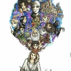 K Rowling writing Harry Potter series Fanart Harry Potter, Arte Do Harry Potter, Harry Potter Humor, Rowling Harry Potter, Harry Potter Drawings, Harry Potter Wallpaper, Harry Potter Facts, Harry Potter Characters, Harry Potter Love