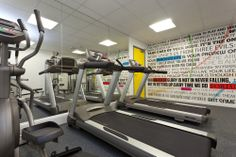 Collegiate student accommodation gym
