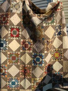 C 1930's Tree of Paradise Quilt Feedsack Fabrics   eBay, mustang95gt.