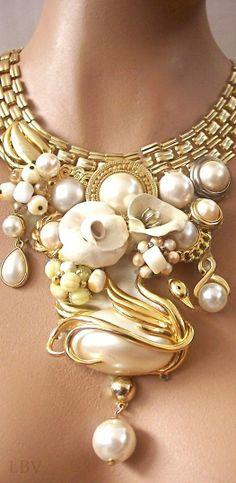 Odette golden pearl statement | LBV ♥✤
