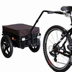 remolque para bicicleta cargo trailer veelar carrito compras