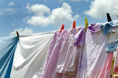 Tips for drying your clothes outdoors