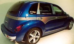 Chrysler PT Cruiser Accessory - Auto-Tech Plastics Chrysler PT Cruiser PT Woody Color-Shifting Kit
