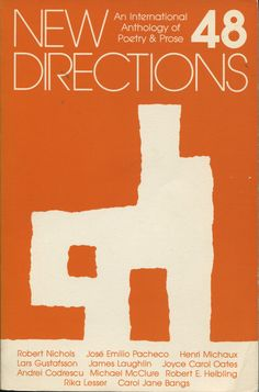 New Directions in Prose and Poetry 48, 1984 James Laughlin