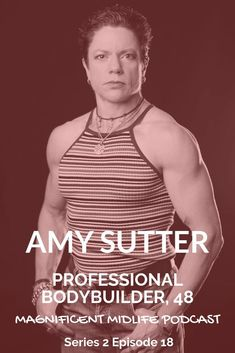 Amy Sutter became a professional bodybuilder at the tender age of Find out how she achieved that and what motivates her to stay top of her game. Aesthetics Bodybuilding, Natural Bodybuilding, Menopause, Eating Well, Fit Women, Love Her, Amy, How To Become