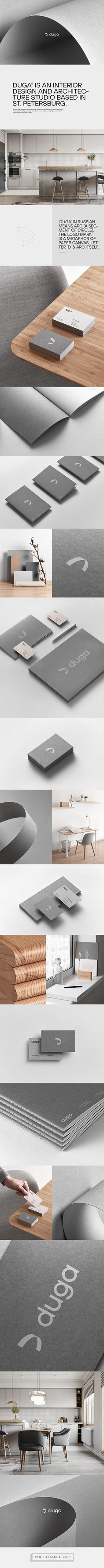 Duga is an interior design and architecture studio based in St. Grid System, Brand Identity Design, Ds, Manual, Typography, Design Inspiration, Branding, Graphic Design, Architecture