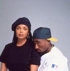 pinterest: geminoir  | Tupac & Janet