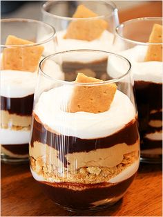 Smores in a Cup! http://www.ivillage.com/best-smores-recipes/3-a-537222