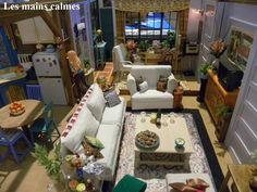 les mains calmes: Maquette Friends Série TV Reproduction