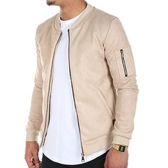 Uniplay - Bomber 1288 Beige - LaBoutiqueOfficielle.com