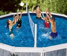 For Above Ground Pools : Volleyball / Basketball Game