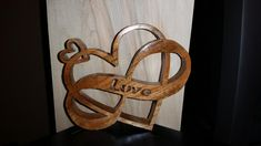 Sweet Heart scroll saw project by Steve Tow