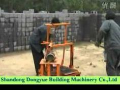 simple manual block machine(Dongyue brand), machine bloc mobile