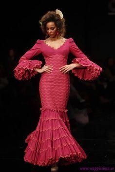 Colección 'Mis flamencas'  por  Pilar Vera  en  Simof 2012