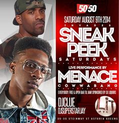 Sneak Peek Saturdays Presents Menace Cowwabang Live @ LiT NYC Saturday August 9, 2014 « Bomb Parties – Club Events and Parties – NYC Nightli...