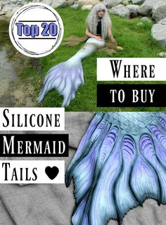 Silicone Mermaid Tails for Adults: FOR SALE! Where to Buy Silicone Mermaid Tails Online for Professional Mermaids! Where is the best place to buy silicone mermaid tails? Here are 20 of my FAVORITE places to find silicone mermaid tails for sale. Real Mermaid Tails, Mermaid Tails For Sale, Realistic Mermaid Tails, Diy Mermaid Tail, Siren Mermaid, Mermaid Tale, Silicone Mermaid Tails Cheap, Fantasy Mermaids, Real Mermaids