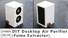 Make a desktop fume extractor. via instructables This desktop air purifier / soldering fan is a great project – it integrates some electronics, woodworking and general tinkering. Not to menti…