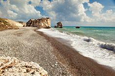 Aphrodite's Rock (Petra tou Romiou) in Cyprus.