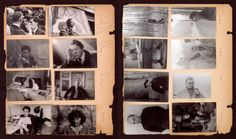 Pages from Henri Cartier-Bresson's Scrap Book 1946.