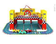 Janod Grand Prix Racing Car Set