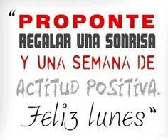 ¡Feliz Lunes! #happy #smile #lunes