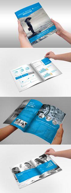 Raport roczny szablon broszura