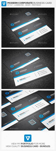 Bold Red Corporate Business Card Template   Corporate business, Card ...