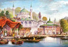 Mešita v Üsküdar, Istanbul - 1