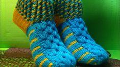 Вязание спицами домашние тапочки