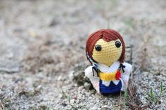 Yuna (Final Fantasy X) - Amigurumi PDF pattern (crochet). $5.80, via Etsy.