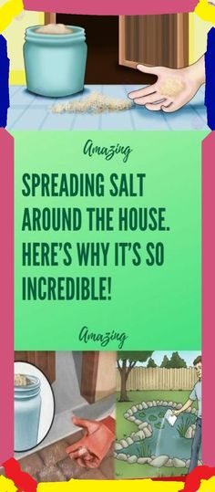 Spreading Salt Around The House � Here�s Why It�s So Incredible!