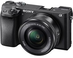 #Sony #Alpha #a6300 Lens Kit – 24.2 Megapixel, Mirrorless Digital Camera, Black KEY FEATURES 24.2 Megapixel Mirrorless Digital Camera Black Built-In Wi-Fi with NFC Sony 16-50mm f/3.5-5.6 OSS Zoom Lens BIONZ X Image Processor.