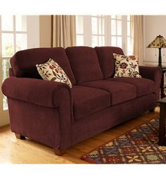 Country Plaid Sofa And Loveseat 184 Broyhill Plaid
