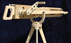 Rubberband Gatling Gun -  Seen this before and thought it would be cool to make :)