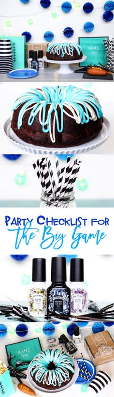 Party Checklist for the Big Game | food, decoration, invitation, ambiance, and clean up idea for hosting your memorable football party with family and friends. http://cbi.as/a1g0o #TheOtherBowl #CollectiveBias #ad