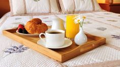 Breakfast in bed?  Add our breakfast basket to your reservation and breakfast for two will be delivered to your room at 10am.