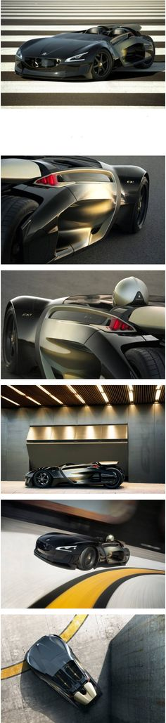 Peugeot Electric ex1 Concept Car to Celebrate 200th Anniversary