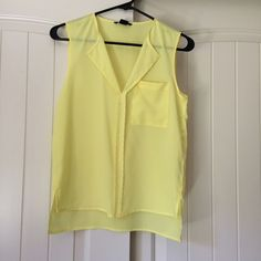 H&M yellow blouse Brand new! H&M Tops Blouses