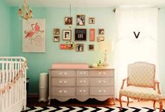 How To Put Together A Classic Glam Nursery: remember the 80/20 rule