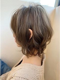 Edgy Short Hair, Asian Short Hair, Short Curly Haircuts, Curly Hair Cuts, Cut My Hair, Hairstyles Haircuts, Pretty Hairstyles, Medium Long Hair, Medium Hair Styles