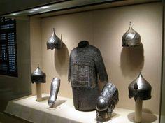 Armure et casques Turcs Ottomans du 15 ou 16eme siècle