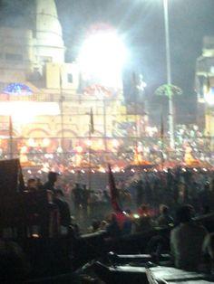 Ganga Aarti at Dashashwmedh Ghat Varanasi