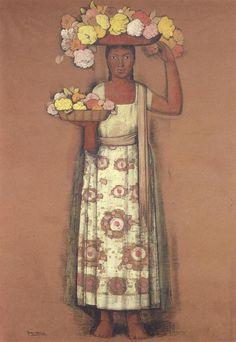 Alfredo Ramos Martinez Henri De Toulouse Lautrec, Mexican Artwork, Mexican Folk Art, Gustav Klimt, Arte Latina, Mexican Pattern, Latino Art, Hummingbird Art, Mexico Art
