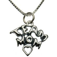 Sterling Silver Team Mom Necklace