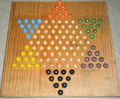 This instructable will show you how to make a wooden Chinese checkers board that can be used with marbles to play the game. I have a wooden board and marble set and. Wooden Board Games, Wood Games, Game Boards, Homemade Board Games, Board Game Template, Marble Games, Diy Games, Gifts For Brother, Wooden Diy