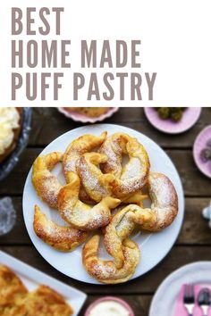 best home made recipe puff pastry Easy Healthy Recipes, Vegan Recipes, Snack Recipes, Easy Meals, Cooking Recipes, Healthy Snacks, Dessert Recipes, Best Dinner Recipes, Spring Recipes